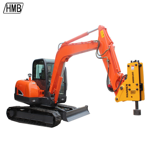 Hydraulic Post Driver Pile Hammer Hydraulic Hammer For Excavator Use