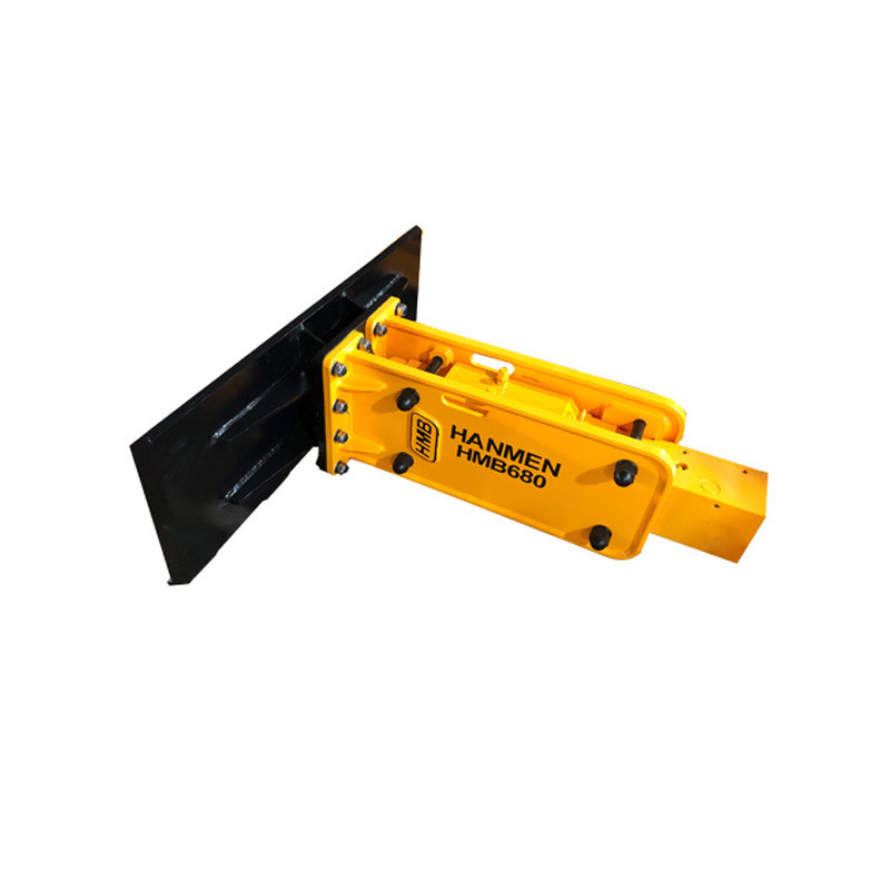 Skid Steer Loader hydraulic rock breaker hammer