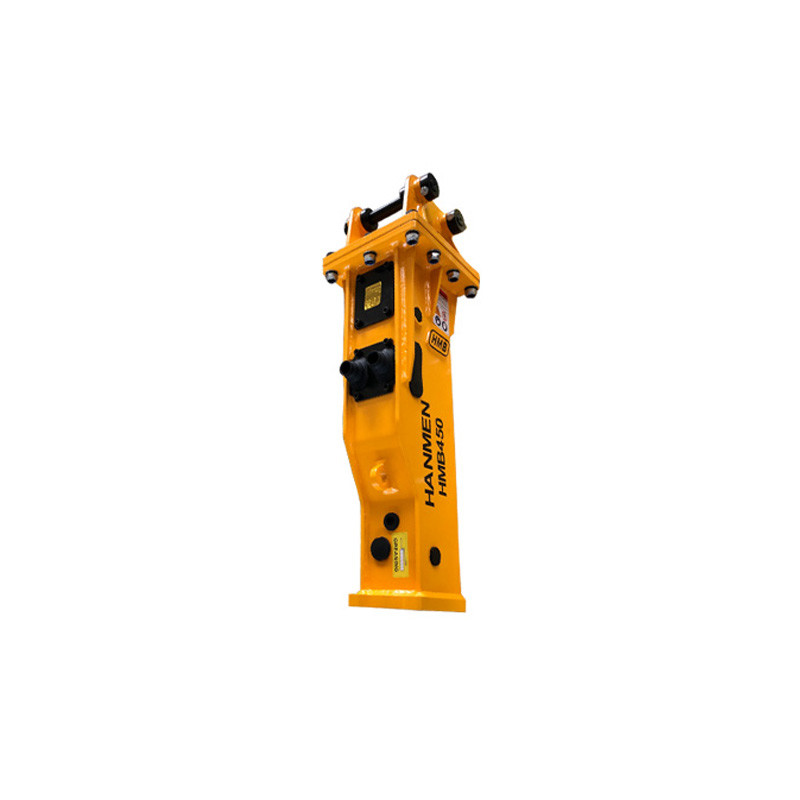 Mini hydraulic concrete breaker for mini excavator and small digger
