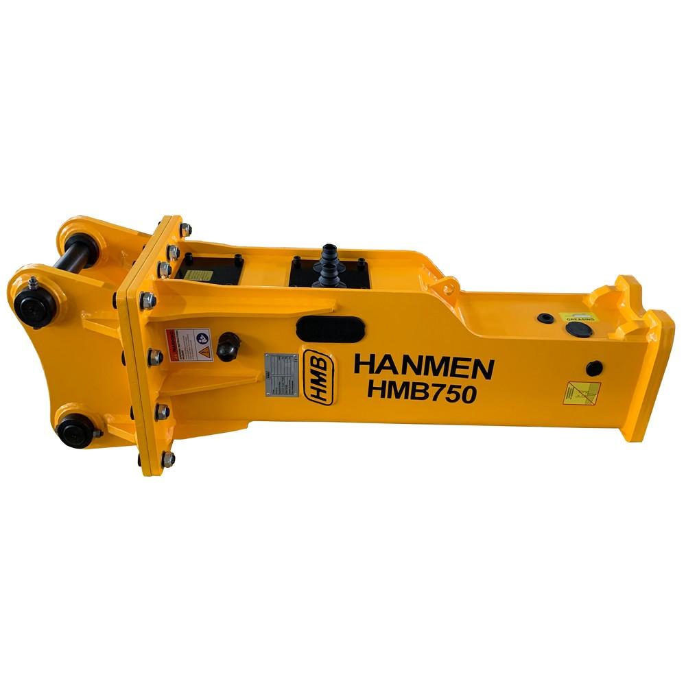 HMB750 Hydraulic breaker hammer for 6000kg backhoe loader