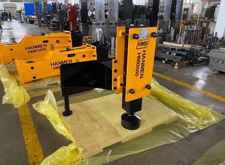 post driver for skid steer loader mount 3-7T with chisel 68mm hot sale in usa market