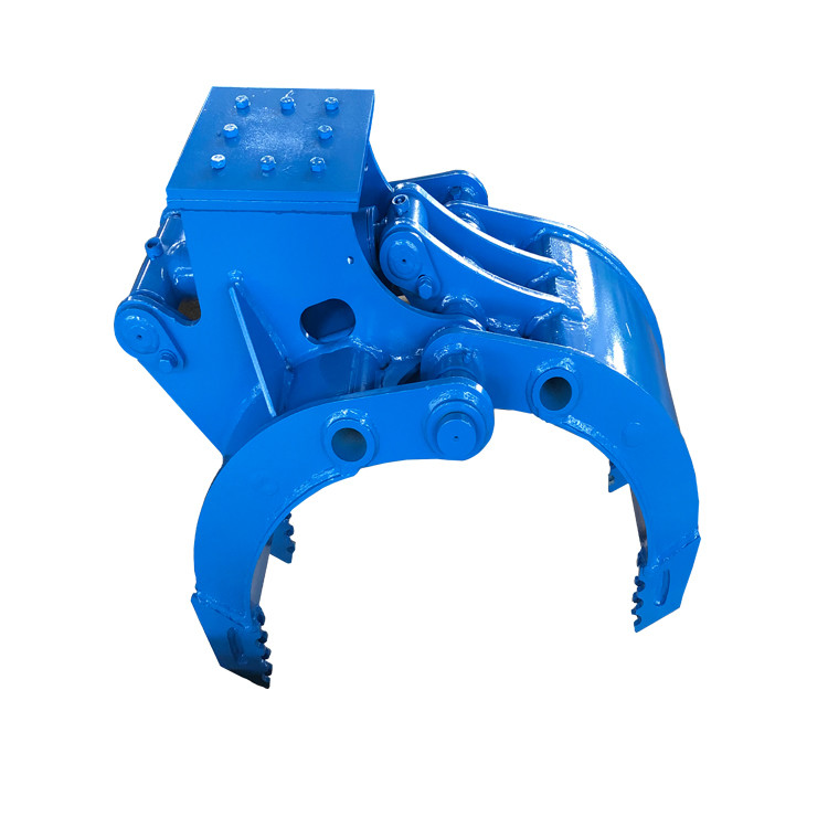 Stone Excavator Rotating Grapple / Hydraulic Grapples Construction Machinery Parts