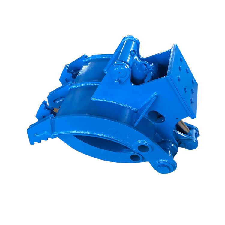 Construction machine excavator hydraulic rotating grapple for excavator