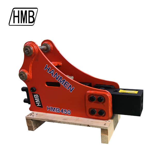 high quality assurance side type hydraulic rock hammer for excavator