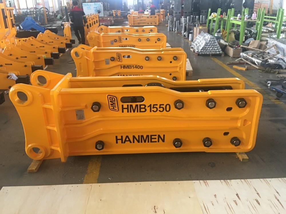 Furukawa HMB HB20G box type hydraulic rock breaker hammer for RB210