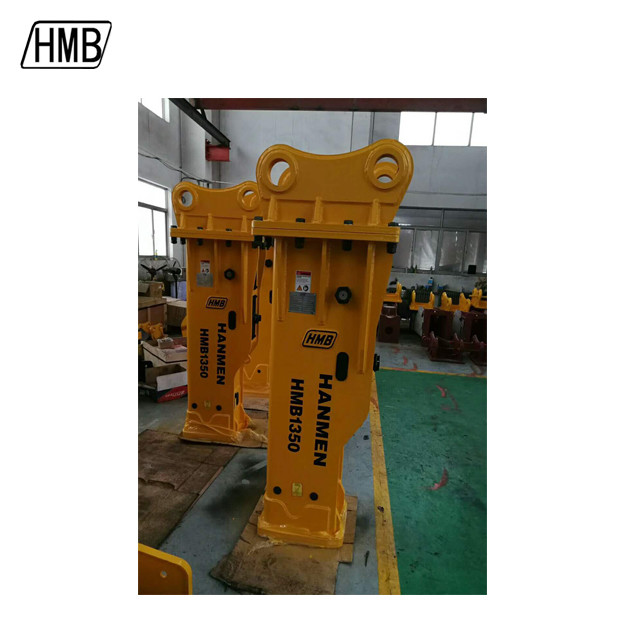 box hydraulic hammer breaker excavator hydraulic breaker with 135mm chisel
