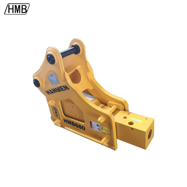 Excavator side type hydraulic breaker fine 68mm hydraulic breaker hammer