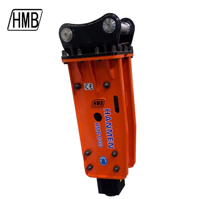 HMB1000  box type  hydraulic breaker hammer with 100mm chisel