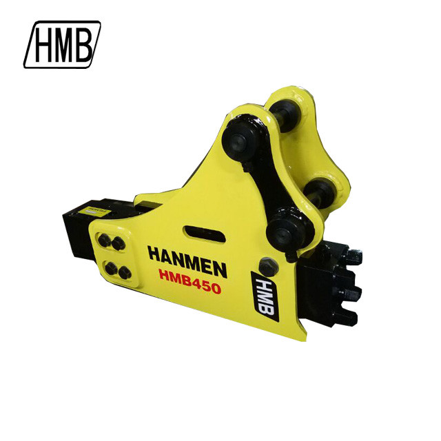 excavator jack hammer side type hydraulic rock breaker for 1-1.5 ton mini excavator