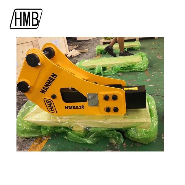 HMB 530 backhoe loader hydraulic breaker hammer with ce certification
