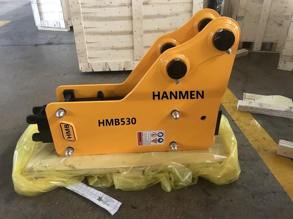 Hydraulic pile hammer hydraulic post hammer