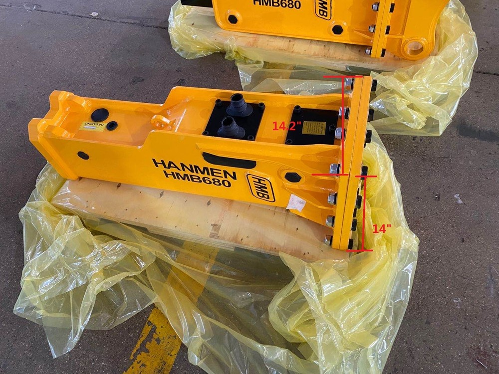 SB20 Breaker Hammer For 1.5 ton Excavator Rock Drill