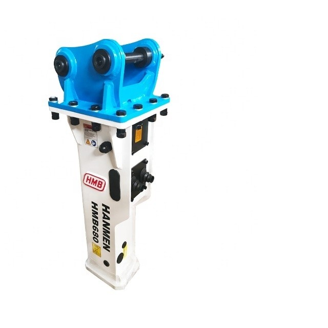 Box-silenced type hydraulic rock breaker construction breaker hammer