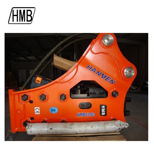 china hydraulic rock breaker sb81 box hydraulic hammer with 135mm chisel