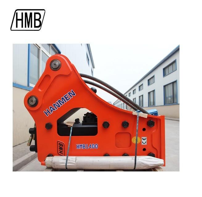 HMB side Type hydraulic hammer rock breaker for mini excavator hydraulic breaker