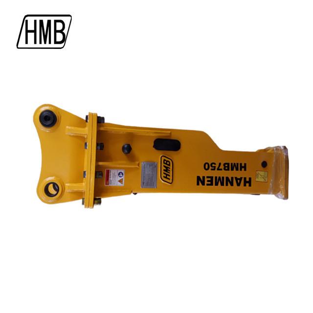 Doosan sb43 hmb hydraulic hammer,excavator hydraulic hammer with 75mm chisel