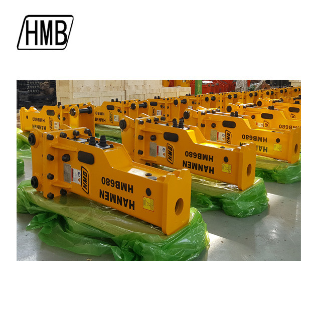 quality hydraulic breaker manufacturer road construction equipment silenced hydraulic breaker