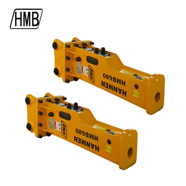 hmb680 hydraulic hammer hydraulic rock breaker soosan sb43 rock hammer for backhoe loader