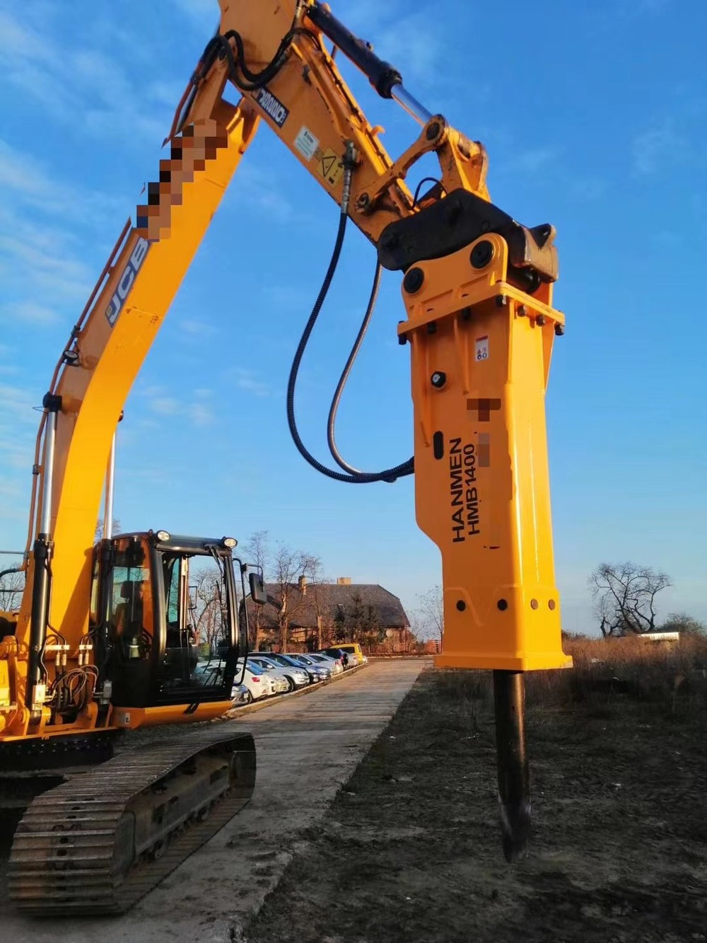 SB81 HMB1350 HMB1400 Korea Hydraulic Hammer Breaker for excavator from China Yantai factory