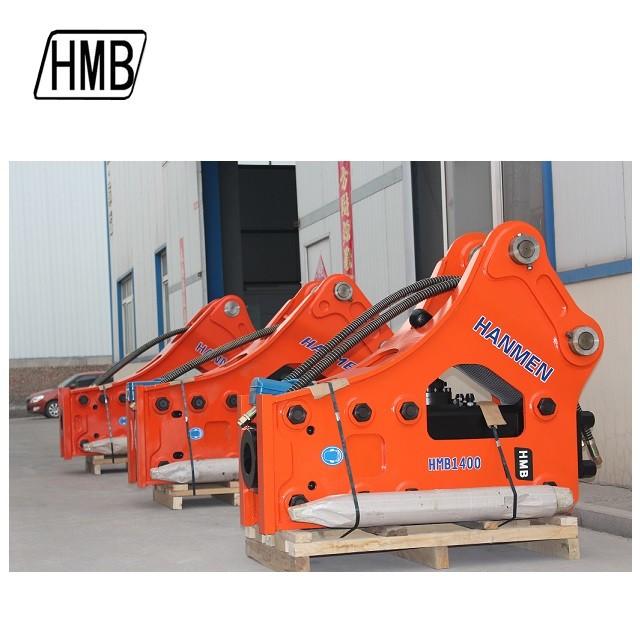 140mm chisel  Demolition hydraulic breaker soosan sb81 hydraulic hammer rock hammer