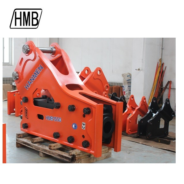 high quality chisel diameter 155mm nitrogen hydraulic breaker manufacturers