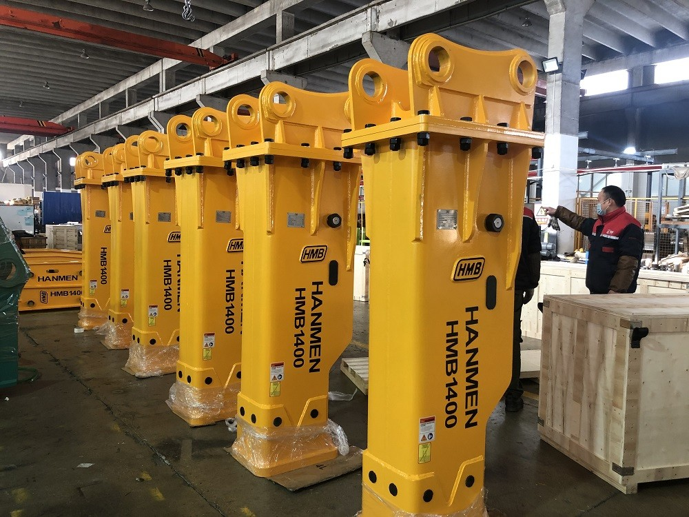Excavator Hydraulic Breaker And Hydraulic Rock Hammer With 140mm Chisel
