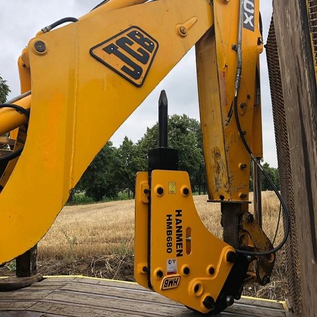 SB40 demolition equipment hydraulic Concrete Rock Breaker Backhoe Hammer for Mini Excavator