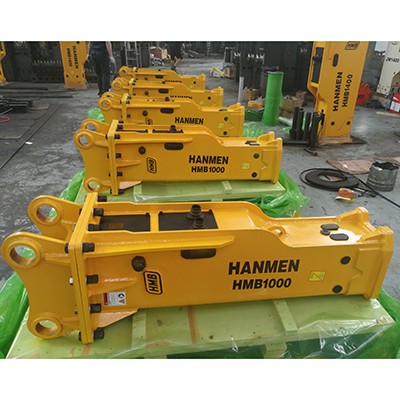 CE approved high quality factory supplied soosan sb50 hydraulic rock breaker excavator