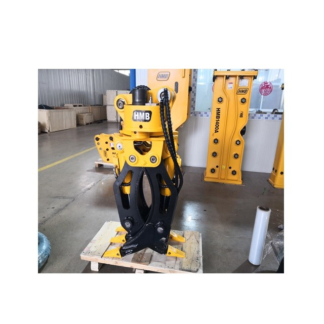 Excavator Hydraulic Rotating Grapple Wooden Grapple Log Grapple Stone Grapple