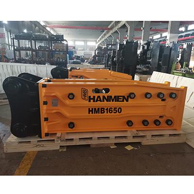 SOOSAN SB131 Excavator accessories hydraulic  Breaker Rock Breaking Hammer for sale