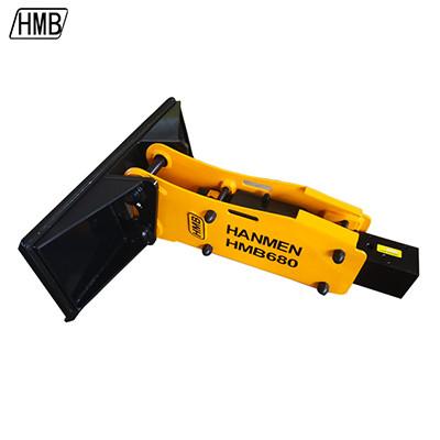 hydraulic breaker for skid steer hydraulic rock breaking hammer attachment excavator