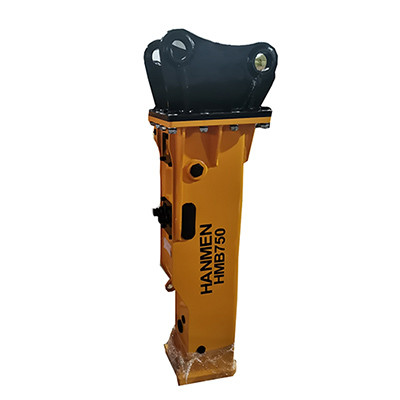 stone breaker hammer HMB750  skid steer breaker hydraulic rock hammer for mini excavator