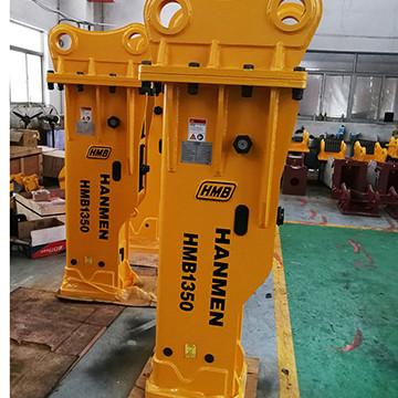 20 ton Furukawa F22 hb20g silence type hydraulic rock breaker hammer for Excavator