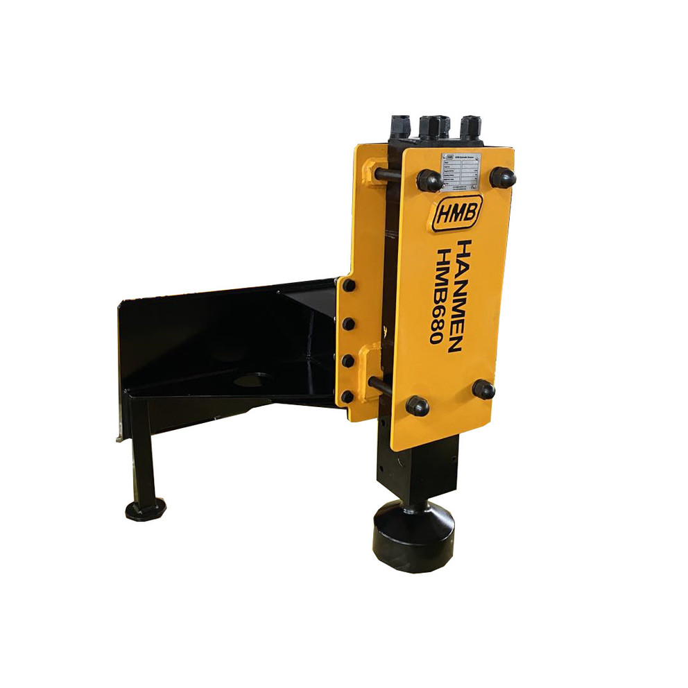 680 skid steer post driver hydraulic hammer
