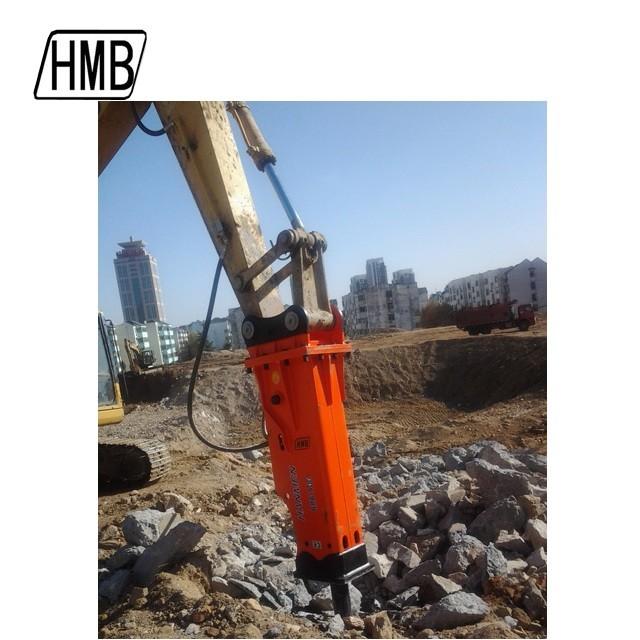 china supplier construction hydraulic hammer providing teledyne hydraulic concrete breaker for excavator