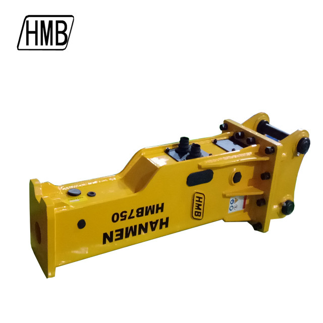 Lower noise customized  excavator silent hammer hydraulic breaker for  Kobelco Caterpillar