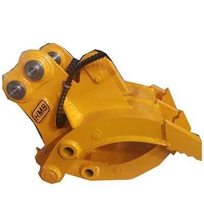 Excavator grab hydraulic grapple thumb grapple rotating grapple for excavator