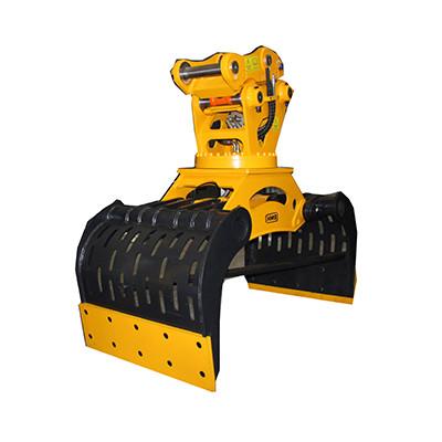 cheap price Excavator 360 hydraulic rotating plat m+s motor demolition sorting grapples selector grapple