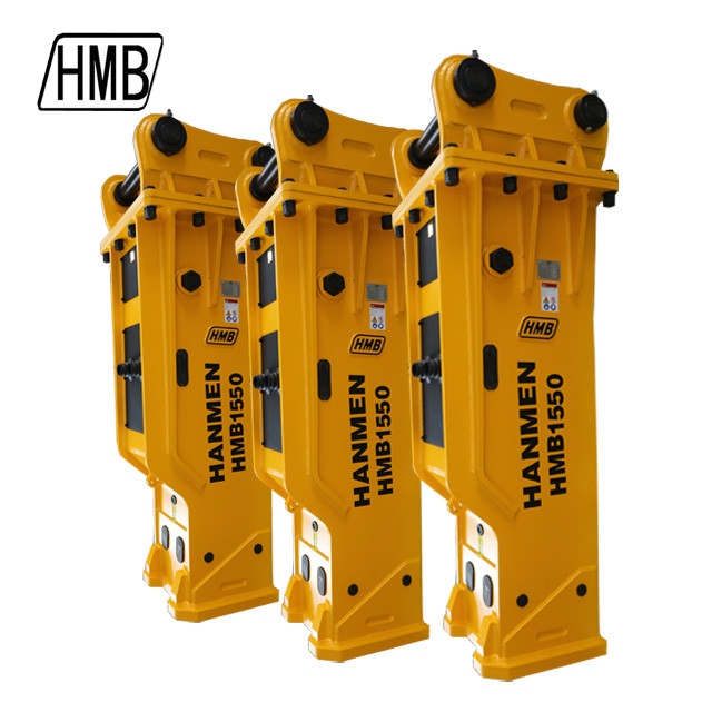 soosan 155mm sb121 PC200 excavator accessories hydraulic rock breaker hammer hmb1550