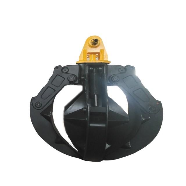 Hydraulic Scrap grab Wood Grab hydraulic rotator grapple for Mini Excavator