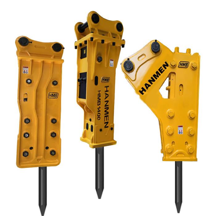 Mini Silenced-Box Excavator  Hydraulic Breaker For Rock Breaking sb40 digger hydraulic hammers