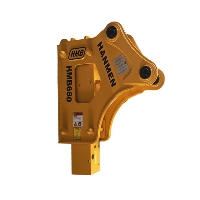 Side Type Hydraulic Rock Breaker Chisel75mm For Excavator demolition Breaker