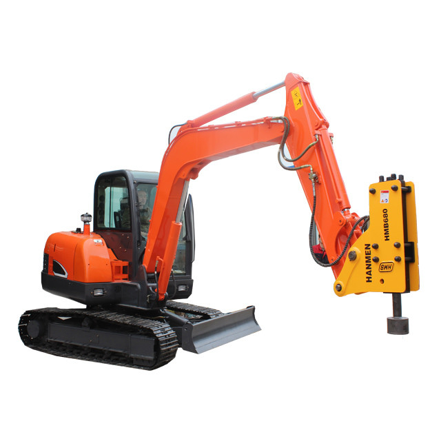 Hot sale China HMB soosan SB40 skid steer loader post driver hammer breaker