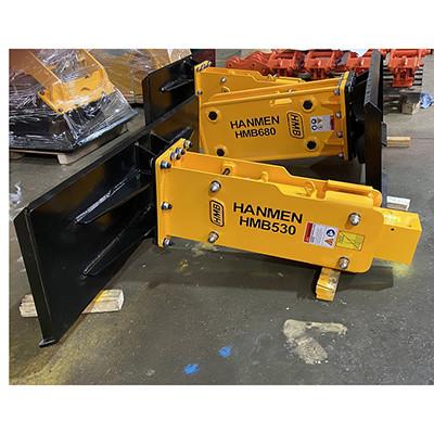 HMB skid steer loader hydraulic breaker for excavator