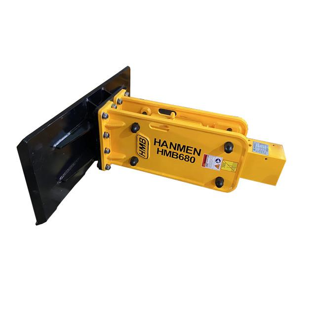 HMB530 excavator skid steer attachmen skid steer hydraulic breaker for sale