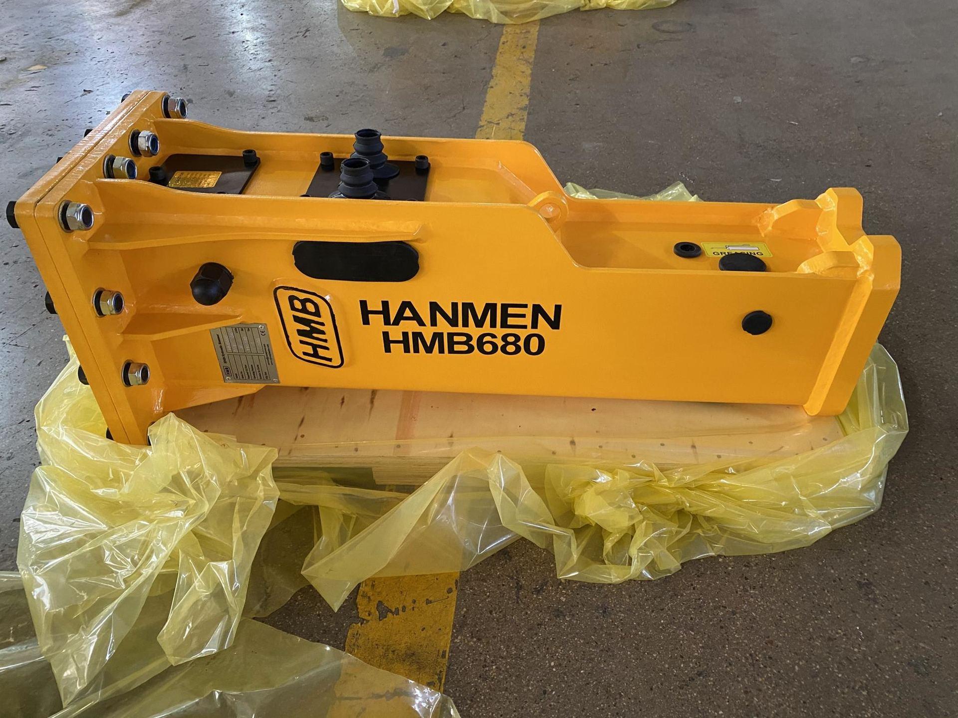 china hydraulic hammer hmb680 excavator stone concrete breaker rock hydraulic breaker