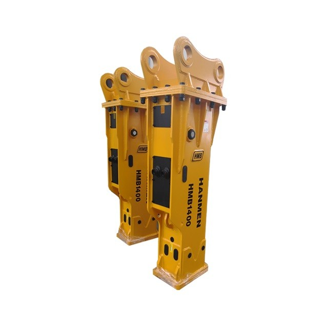 yantai factory price hydraulic rock breaker demolition hammer mini excavator hydraulic breaker