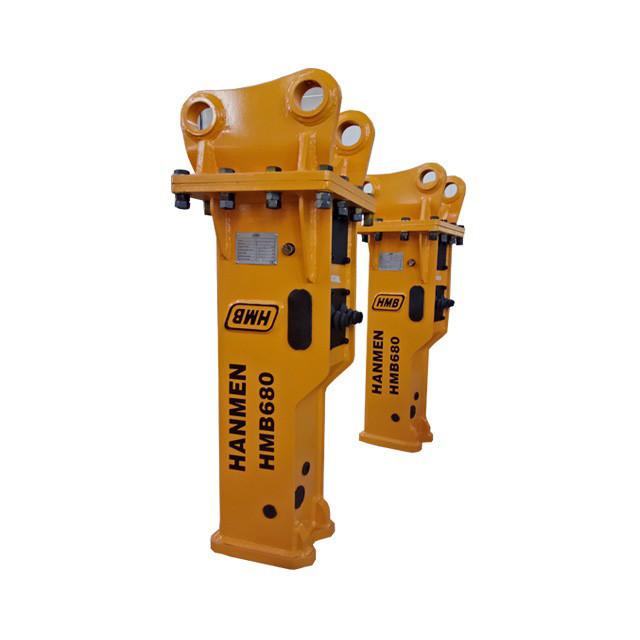 hmb Martillo hidraulico demolition machine excavating hydraulic breaker hydraulic rock hammer