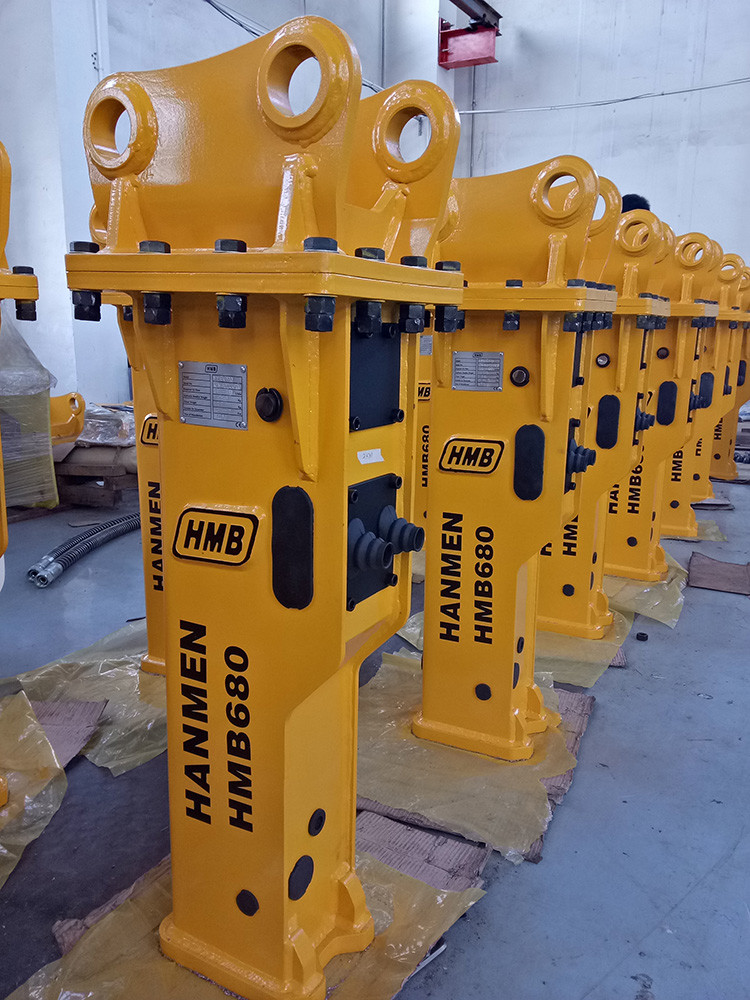 heavy equipment spare parts mini hydraulic rock breaker hydraulic hammers from china