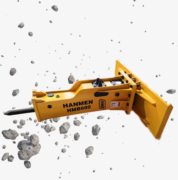best quality skid steer hydraulic breaker attachment concrete hammer for skid steer